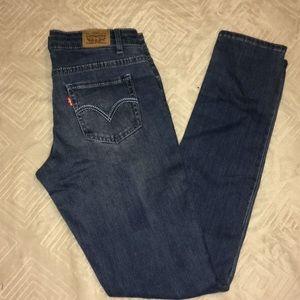 NWOT Levi's 710 skinny jeans